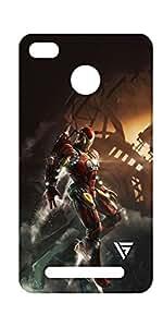 Vogueshell Iron Man Printed Symmetry PRO Series Hard Back Case for Xiaomi Redmi 3S Prime