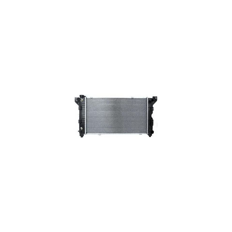 96 99 PLYMOUTH GRAND VOYAGER RADIATOR VAN, 4 & 6cyl Standard Duty, w/ 1 Oil cooler (1996 96 1997 97 1998 98 1999 99) P1850 4682588