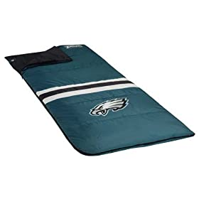 <b>Philadelphia Eagles NFL Sleeping Bag by North Pole</b>