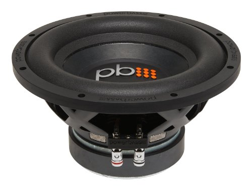 Powerbass S-1004 10-Inch Single 4 Ohm Subwoofer 550W Max