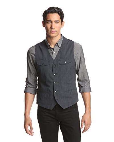 Kenneth Cole New York Men's Flap Pocket Vest