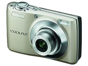 """Nikon Coolpix L22 Appareil photo numérique compact 12 Mpix Ecran 3"""" Zoom optique 3,6x Argent"""