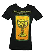 Mortal Instruments Girls Juniors T-Shirt - Tarot Card Style Cup Image