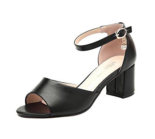 fq-real-womens-trendy-rhinestones-decorated-peep-toe-low-block-heel-sandals-5-ukblack