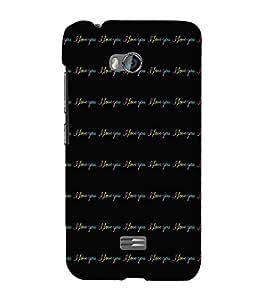 EPICCASE limitless love Mobile Back Case Cover For Micromax Q336 (Designer Case)