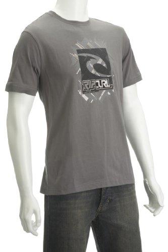 Ripcurl Foiler Ss Tee Smoke Men's T-Shirt Medium
