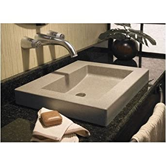 Swanstone WB02218.059 Metropolitan Palladio Washbasin Vessel Sink
