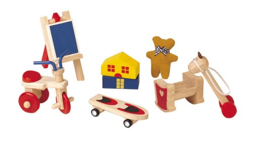 Plan Toy Doll House Fun Toys Set