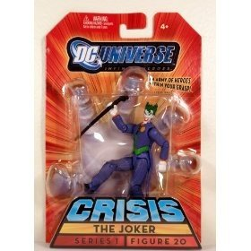 Buy Low Price Mattel DC Universe Infinite Heroes Crisis The Joker (Purple Suit) Series 1 Figure 20 (B00284MVEE)