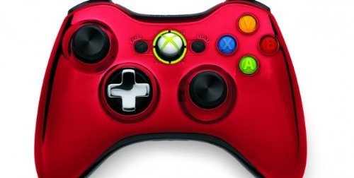Xbox 360 Chrome Series Limited Edition Wireless Controller - Red (Xbox 360 Special Edition Console compare prices)