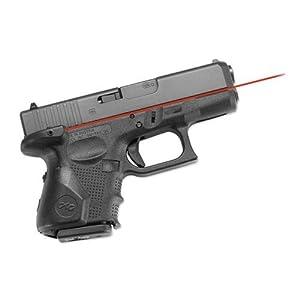 Crimson Trace Laser Grip for Glock 4th Generation Sub Compact 26, 27 (Black)