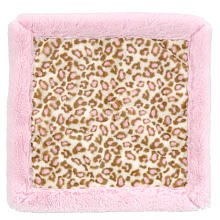 Koala Baby Security Blanket - Pink Leopard - 1