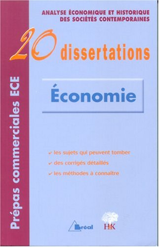 20 dissertations d'Économie