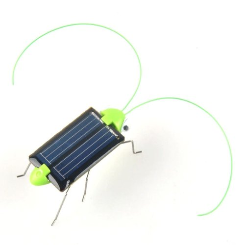 Neewer® Adorable Solar Power Robot Insect Bug Locust Grasshopper Toy Kid front-654488