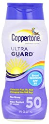 Coppertone Sunscreen Lotion Ultra Guard Broad Spectrum SPF