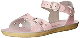 Salt Water Sandals by Hoy Shoe Sweetheart, Pink,11 M US Little Kid