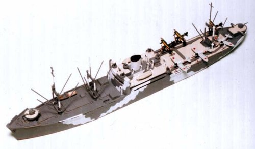 Skywave 1/700 IJN Seaplanes Tender Kimikawa-Maru Model Kit