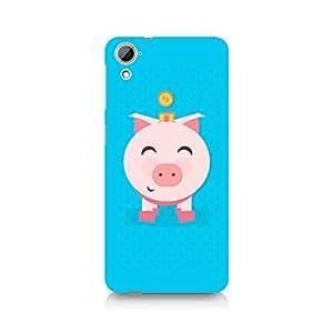 Ebby Pig Money Premium Printed Case For HTC Desire 826