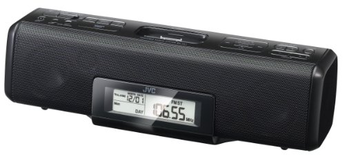 Jvc Jvc Ra-P51B Portable Audio System With Direct Dock For Ipod/Iphone