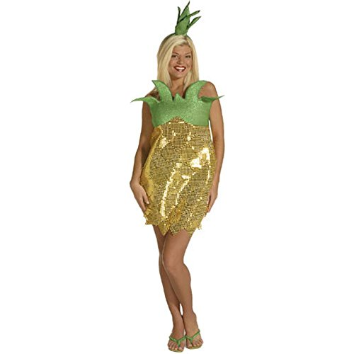 Pineapple Adult Costume (Size: Standard 6-10)