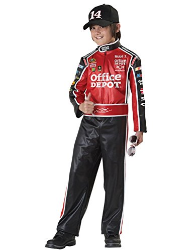 Baoer Kids-Costume Tony Stewart Kids Costume Lg Halloween Costume - Child Large