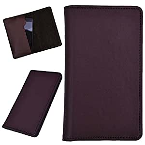 DCR Pu Leather case cover for Gionee Ctrl V4S (brown)