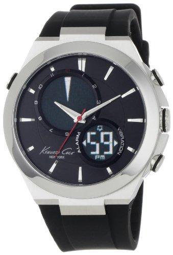 kenneth-cole-kc1762-reloj-de-pulsera-hombre-resina-color-negro