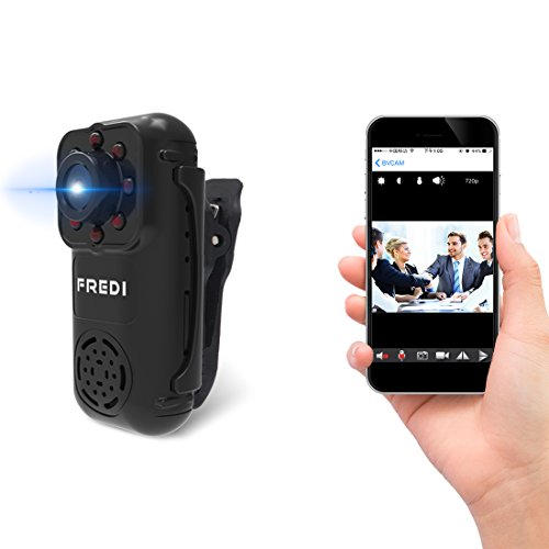 FREDI 720P Mini Portable Hidden Spy Camera Indoor / Outdoor Security