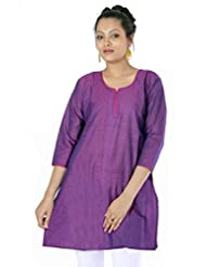 Shopping Rajasthan Exclusive Design Pure Cotton Handloom Handweaved Kurti Top - B00PHBX6RQ