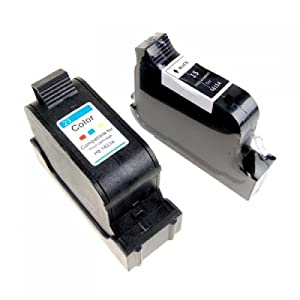 2pcs Ink Cartridge for HP 23 C1823D HP 15 C6615