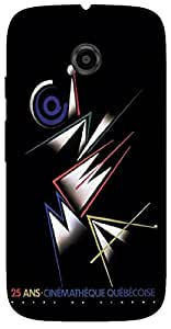 Timpax Light Weight One-piece construction Hard Back Case Cover Printed Design : A saying.Specifically Design For : Motorola Moto E-2 ( 2nd Gen )
