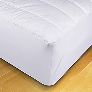 ecopure mattress pads xl twin size home kitchen. Black Bedroom Furniture Sets. Home Design Ideas