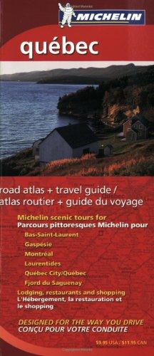 Michelin Quebec Regional Atlas & Travel Guide (Michelin Regional Atlas & Travel Guide Quebec)