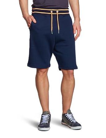 TOM TAILOR Denim Herren Hose 68002340012/sweatpants w. neon, Gr. 46 (S), Blau (6576 night sky blue)