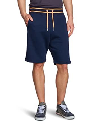 TOM TAILOR Denim Herren Hose 68002340012/sweatpants w. neon, Gr. 46 (S), Blau (6576 night sky blue)