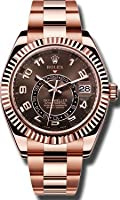 Rolex Sky Dweller Sundust Dial 18kt Everose Gold Mens Watch 326935 from Rolex