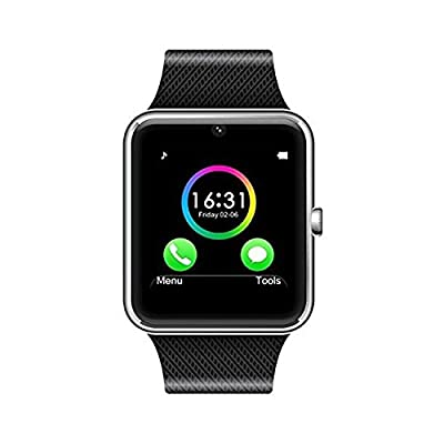 Micomy GT08 Bluetooth 3.0 Smart Watch with Camera And SIM Card Slot -Silver