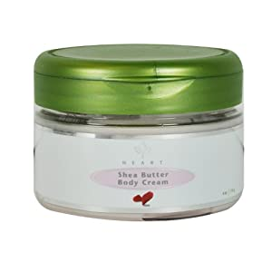 Garden Botanika Heart Shea Butter Body Cream, 4 Ounce by Garden Botanika