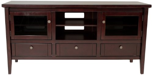 TechCraft 64-Inch Wood Credenza, Espresso