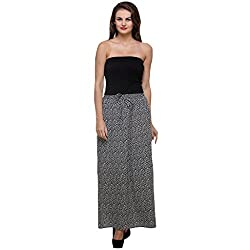 PURYS BLACK & WHITE SKIRT - Small
