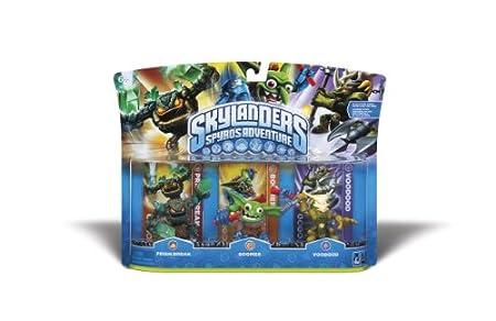 Skylanders Spyro's Adventure Triple Character Pack (Prism Break, Boomer, Voodood)