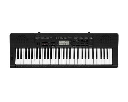 Casio Ctk-3200 61-Key Touch Sensitive Personal Keyboard With Pitch Bend Wheel And Power Supply front-720043
