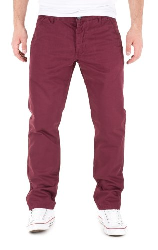 Jack & Jones Herren Chino Hose by Jack Jones Jeans H/M 2013 Star MOD 5173 rot D.G