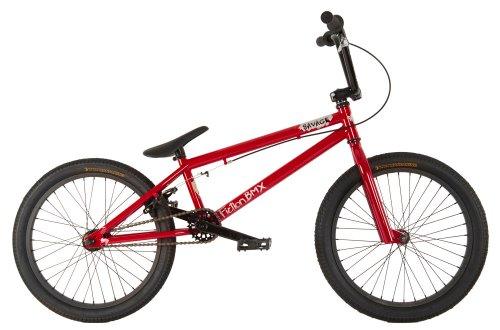 Fiction Savage BMX Bike Redrum Red/Black 20