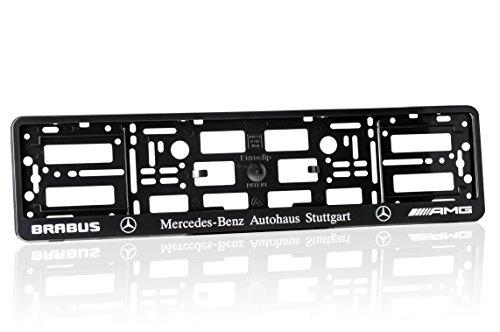 2x-mercedes-brabus-amg-black-number-plate-holder-car-registration-surround