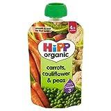 HiPP Organic Carrots, Cauliflower & Peas 4+ Mths 100G