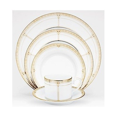 Noritake Palmer Gold 20-Piece Set, Service for 4