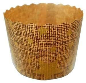 "Qualita Paper Baking Moulds - Panettone - 2½"""