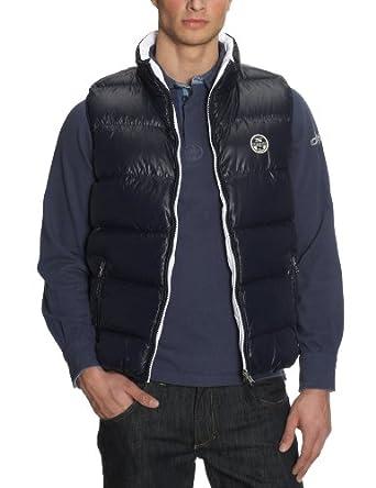 north sails men 39 s sleeveless jacket navy blue 46 amazon. Black Bedroom Furniture Sets. Home Design Ideas