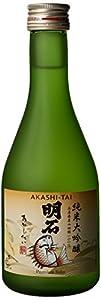 Akashi-Tai Junmai Daiginjo Sake Halves